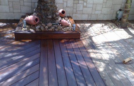 חידוש דקים בגינה