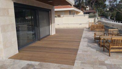 פרויקט דק מרפסת בחיפה