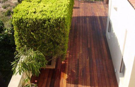 פרוייקט דק בגינה באשכול חיפה