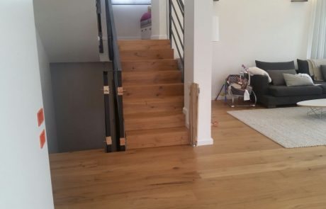 פרקט מדרגות איכותי